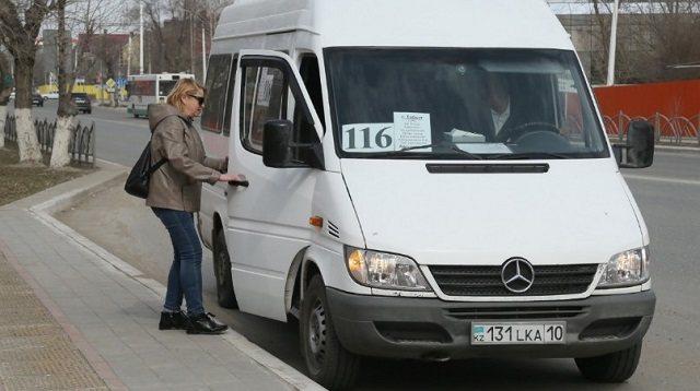 Движение между Костанаем и Тобылом возобновил автобус №116
