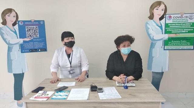 С 15 апреля получить вакцину можно в ТРЦ Костанай Plaza
