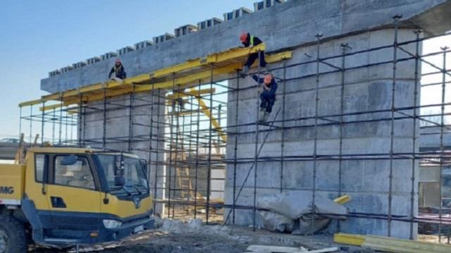 Как продвигаются работы по строительству нового Корейского моста