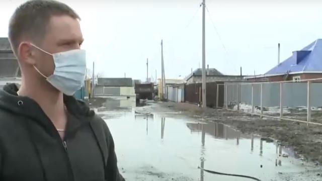 Видео: Талая вода пришла в дома жителей Костаная