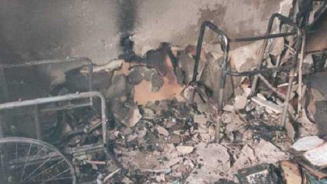 Пенсионерка-инвалид пострадала при пожаре в Костанае