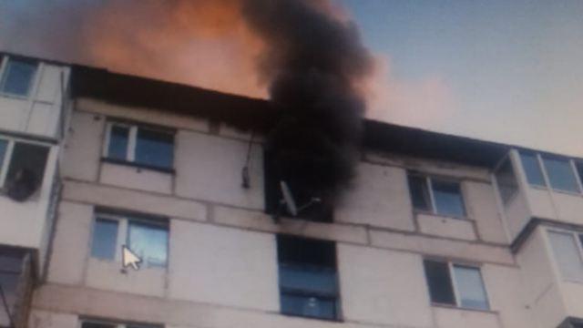 Огнеборцы нашли труп женщины при тушении пожара в Костанае