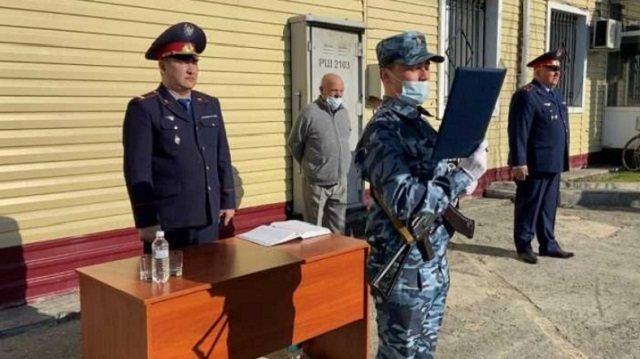 Молодые полицейские прибыли на службу в сельскую местность