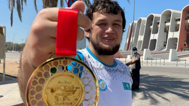 Костанаец Рамазан Кусаинов стал чемпионом мира по джиу-джитсу