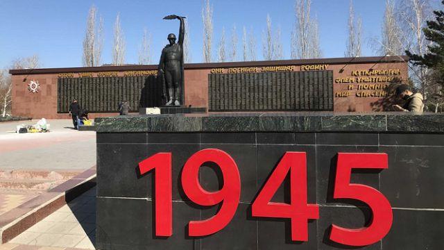 Постамент Неизвестного солдата в парке Победы реконструируют