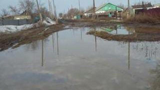 «Родина в опасности»: Жители пригорода Аркалыка тоже тонут