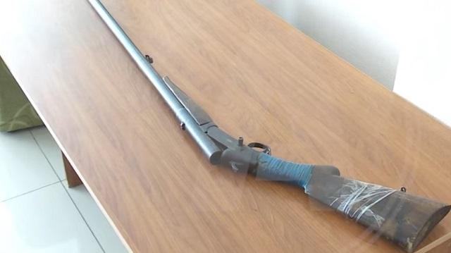 Пенсионерка из Костаная сдала в полицию редкое старинное ружьё