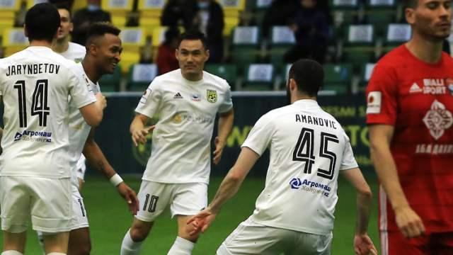 «Тобол» в Костанае выиграл у кызылординского «Кайсара»