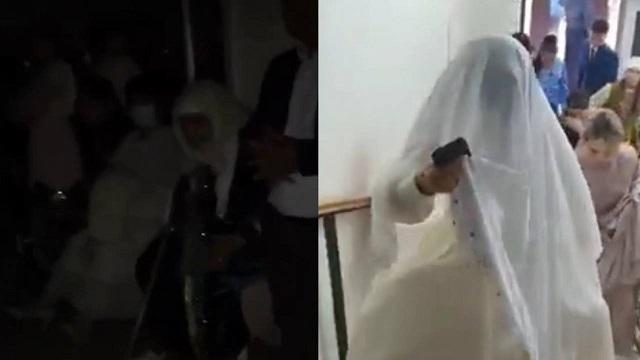 Видео: Гости со свадьбы прятались от полиции в подвале ресторана