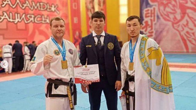 Двое костанайских тхэквондистов стали чемпионами Казахстана