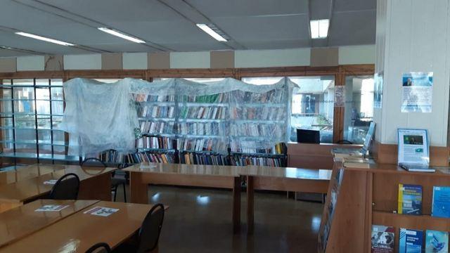 Крыша течёт: Библиотеку имени Толстого заливает в Костанае