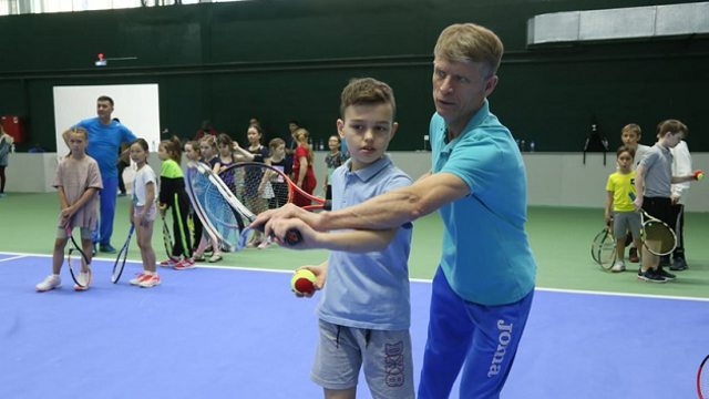 Теннисный центр открылся в Костанайской области