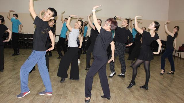 Знаменитый хореограф Изим Тойган приехала в Костанай