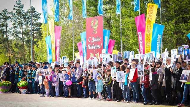 Празднование Дня Победы перенесли в Казахстане на год