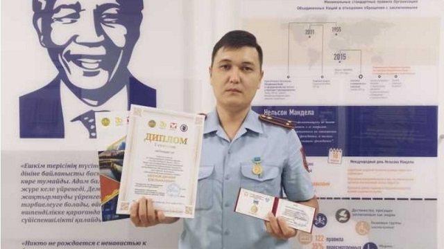 «Лучший молодой учёный-2021» — преподаватель академии МВД РК