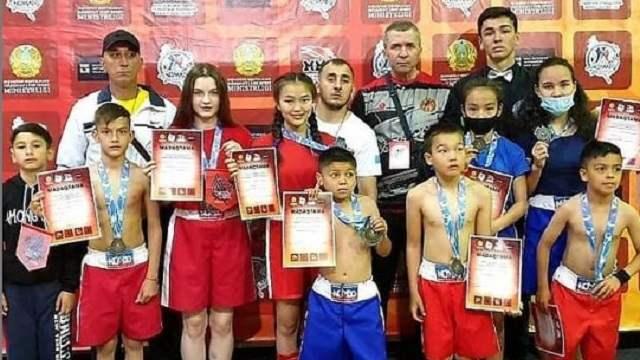 Медали чемпионата страны по Nomad MMA достались костанайцам