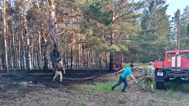 В регионе объявлен чрезвычайный класс пожарной опасности