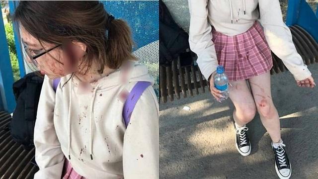 Две женщины избили ребенка на остановке в Алматинской области