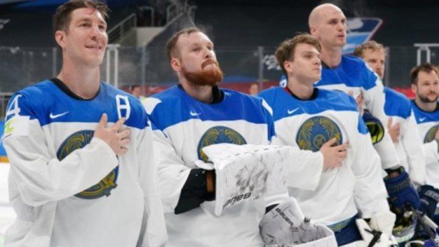 Казахстан победил Германию на чемпионате мира по хоккею