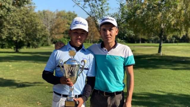 Гольфист Марат Багтжанов стал третьим на турнире в Ташкенте
