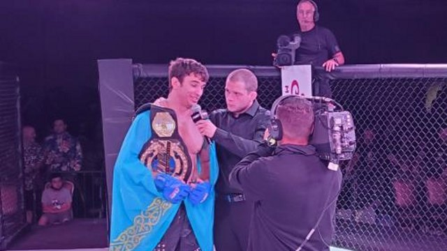 Видео: Казахстанец Николай Веретенников взял чемпионский титул