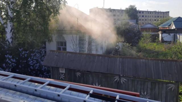 Мужчина умер после пожара в Рудном