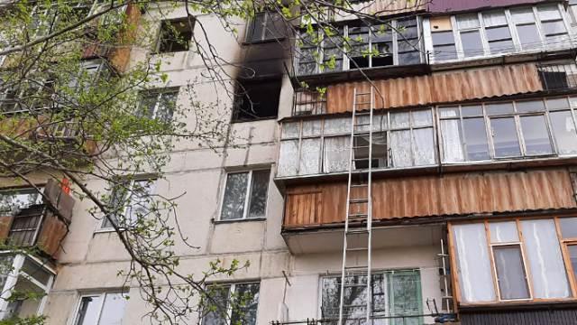Пожар в пятиэтажке Лисаковска: спасены девять человек
