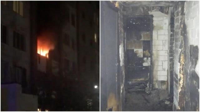 Снимали на телефон: О смертельном пожаре рассказали в Павлодаре