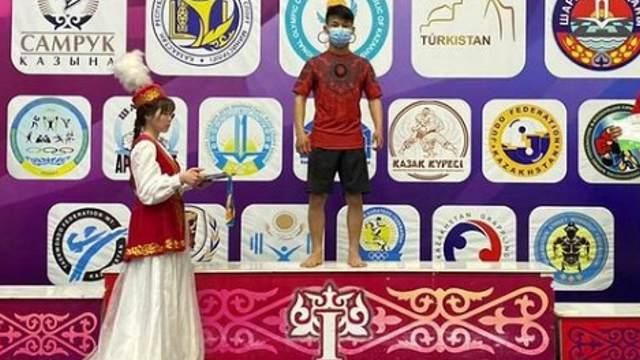 Костанаец Серік Алдияр стал чемпионом Казахстана по грэпплингу