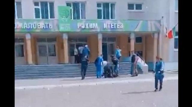 «Мимо лежащих тел»: Что рассказали ученики школы Казани