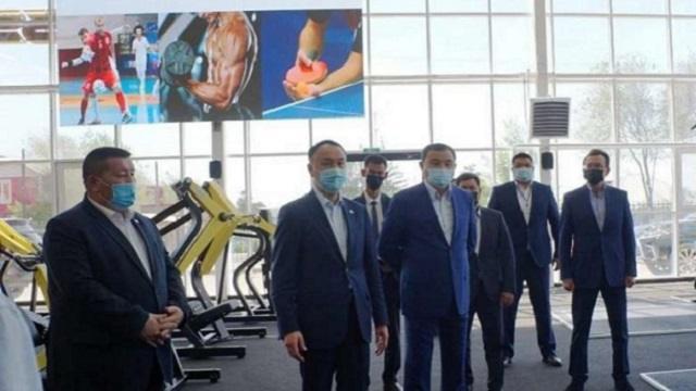 Архимед Мухамбетов открыл в Рудном новый спорткомплекс