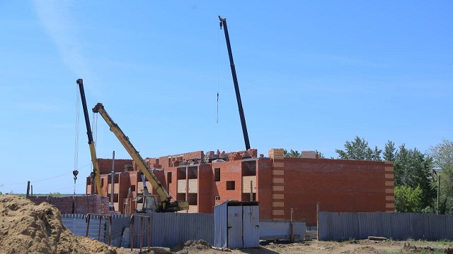 Восемь новых жилых домов будет построено в Рудном
