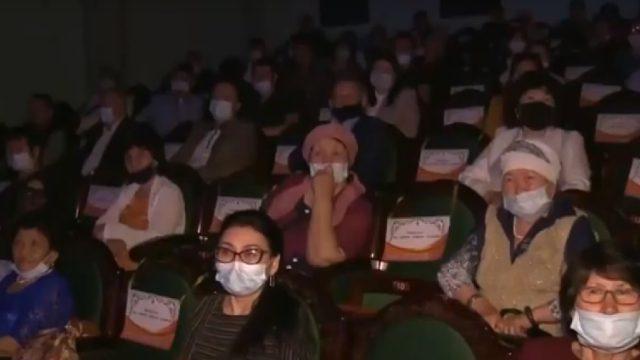 Видео: Премьера спектакля «Қазақтар» состоялась в Костанае