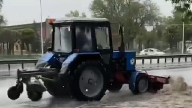 «Нанотехнологии»: Осушение дорог рассмешило алматинцев