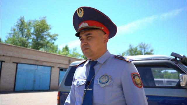 Подробности погони со стрельбой рассказали в полиции Аркалыка