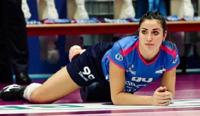 Беатрис Негретти — самая «горячая» итальянская волейболистка