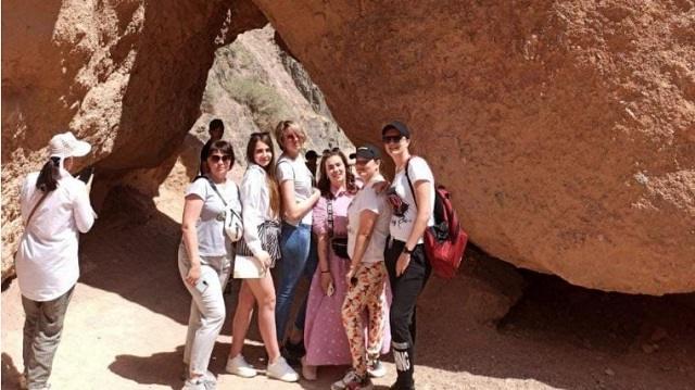 Рудничанки оказывали помощь пострадавшим в Чарынском каньоне