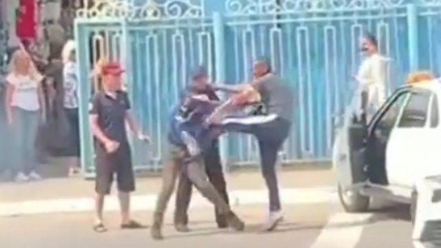 Бой без правил устроили бретёры в центре Костаная
