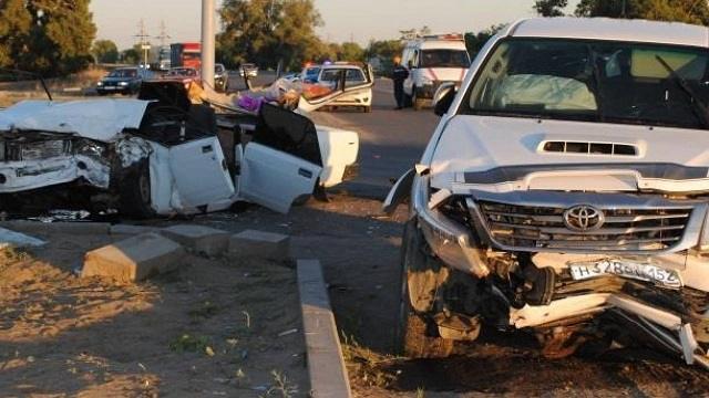 В Актобе произошло жуткое ДТП со смертельным исходом