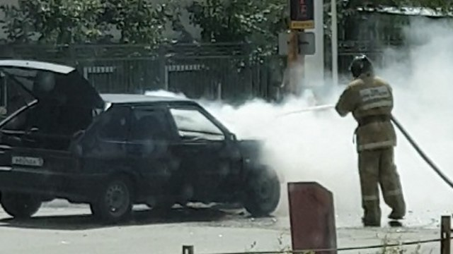 ДТП с участием пожарного авто в Костанае. Официально