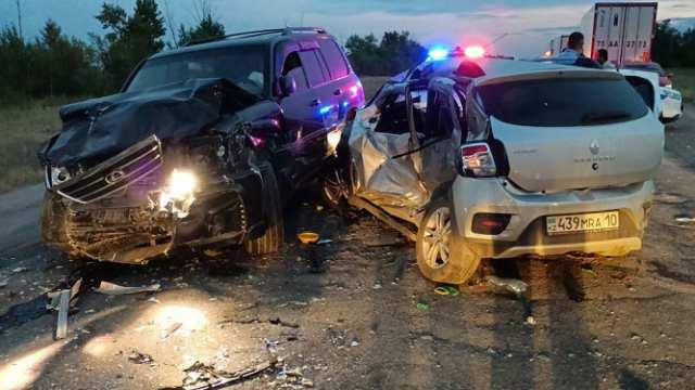 Автоледи устроила смертельную аварию в Костанайской области