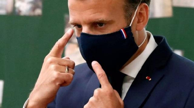 Неизвестный мужчина дал пощёчину президенту Франции Макрону