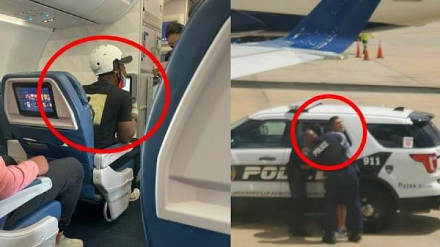Пассажир авиалайнера пытался открыть дверь во время полета