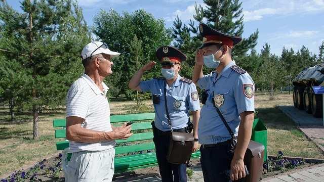 Как за год изменилась жизнь полицейского Амантая Байжанова