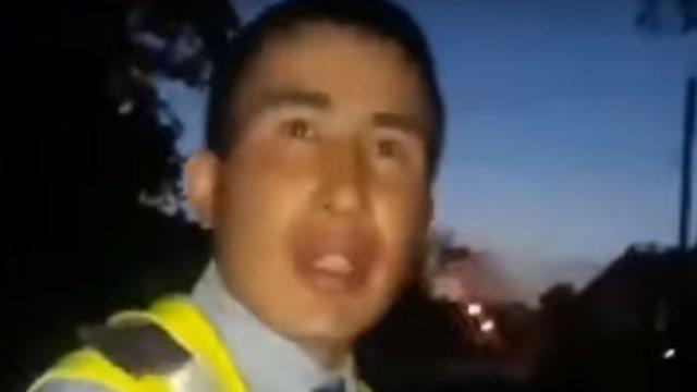 Полицейский спас девушку, решившую спрыгнуть с 5 этажа в Костанае