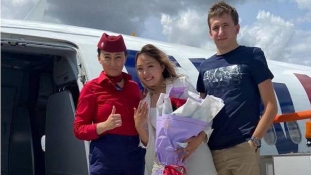 Она сказала «да»: Казахстанец необычно сделал предложение девушке