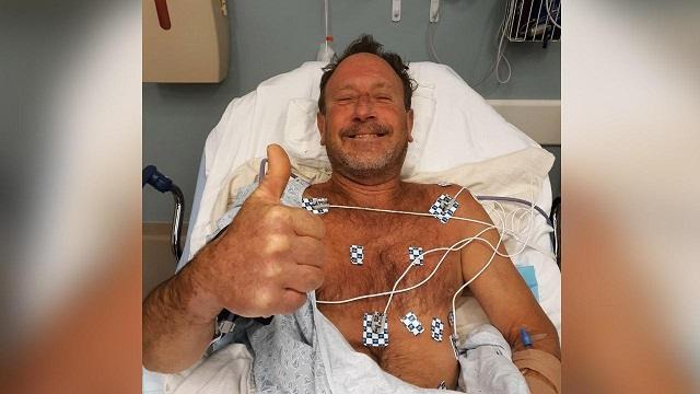 Мужчина выжил после того, как его проглотил кит