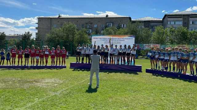 Регбистки Костанайской области выиграли бронзу Молодежных игр