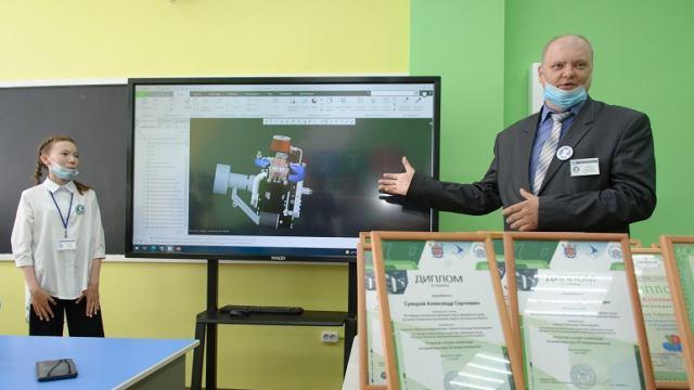 Инновационную STEM-лабораторию открыли в Костанае