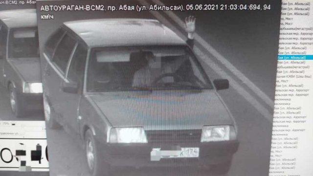 20-летний водитель нарушил правила на 2 млн тенге в Костанае